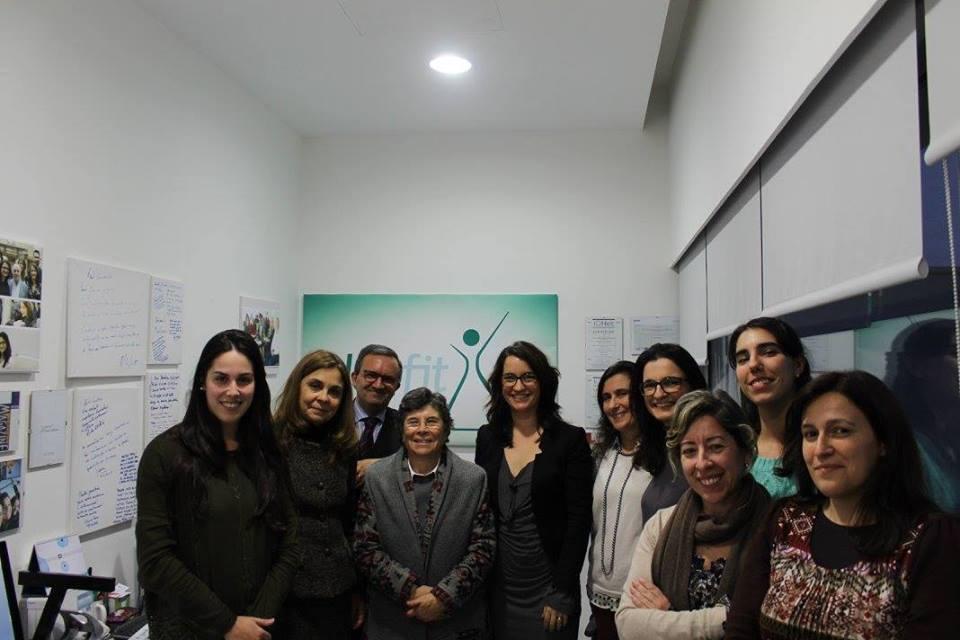 Prof Ana Paula Martins, candidata a Bastonária da Ordem dos Farmacêuticos, visita a Labfit