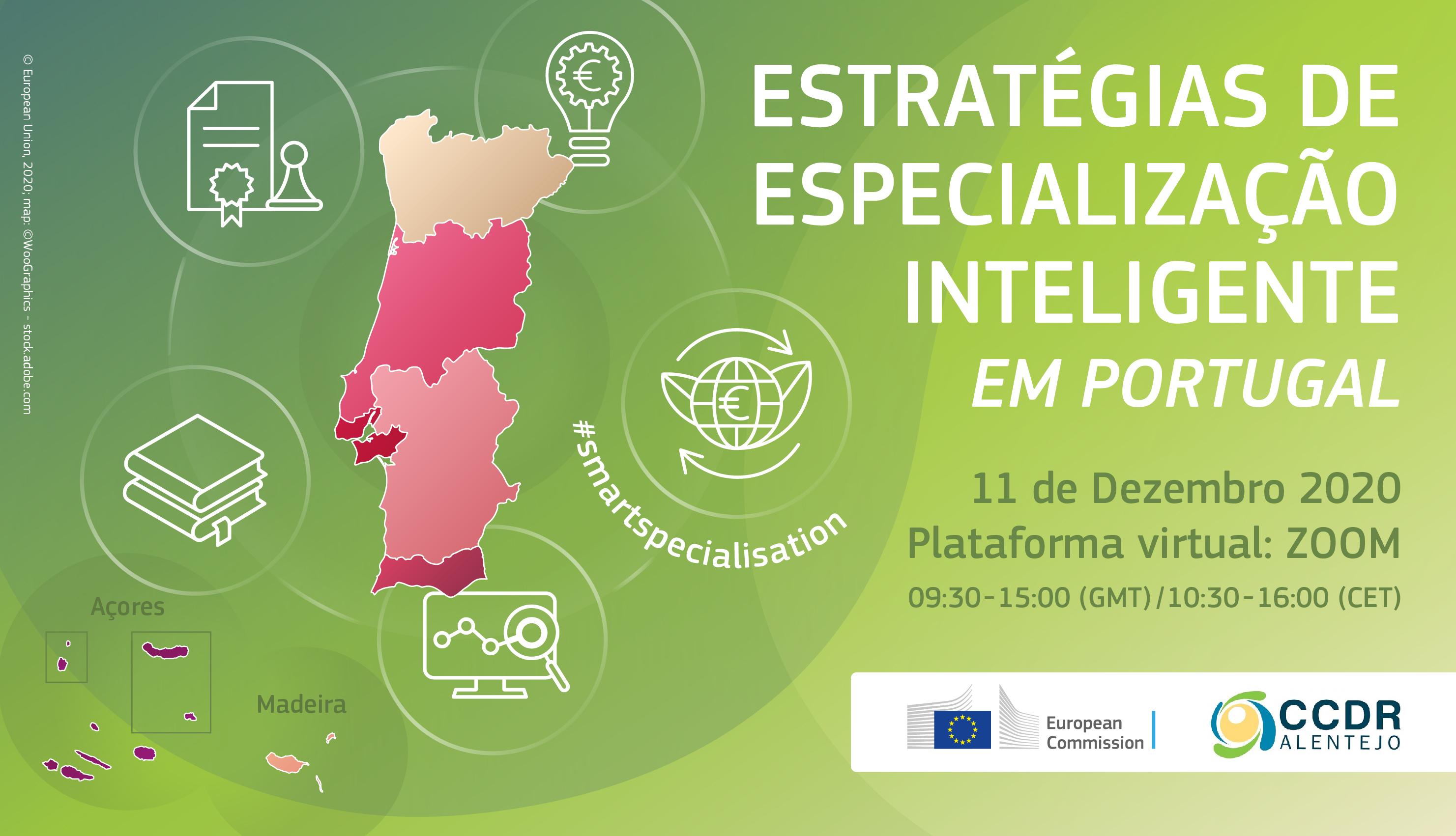 """Conferência """"Estratégias de Especialização Inteligente em Portugal"""" - 11 dezembro –"""