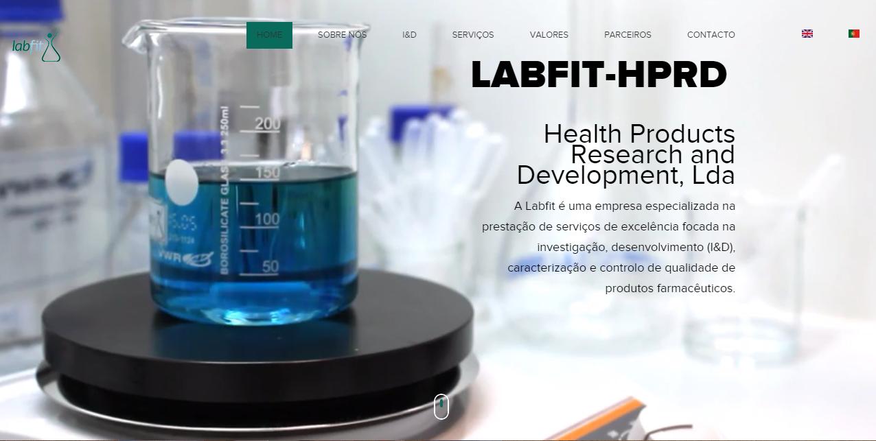 Labfit tem nova imagem online